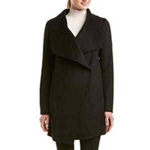 T Tahari Woolblend wife collar coat.